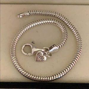KAY Jewelers Memories 925 silver bracelet